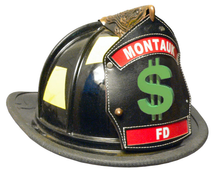 Montauk Fire Department Helmet